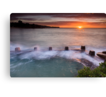 Coogee starburst Canvas Print