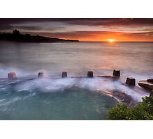 Coogee starburst Photographic Print