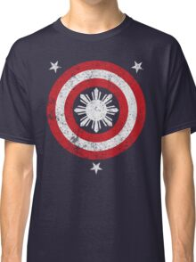Captain Philippines! (Grunge White Sun) Classic T-Shirt