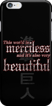 Merciless and Beautiful by RileyRiot