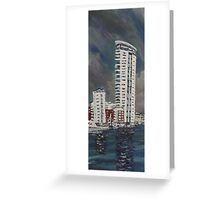 The meridian Tower  Greeting Card