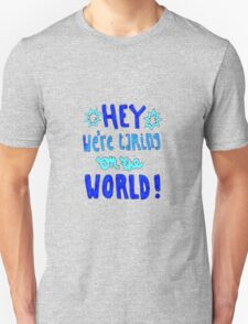 Unpredictable Lyric Drawing Unisex T-Shirt
