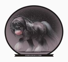 Gypsy Horse Sketch T-Shirt
