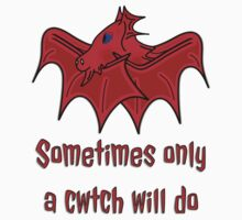 Dragons give the best Welsh Cwtch's wales t shirt T-Shirt