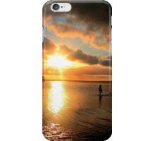 Dead Calm (Sunset) Wellington Point, Queensland iPhone Case/Skin