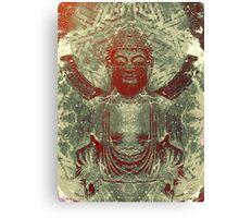 Gautam Buddha- The Peaceful Canvas Print