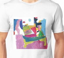 green glass on table Unisex T-Shirt