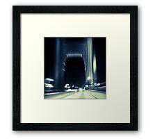 San Francisco - Bay Bridge Framed Print