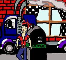 Roadhouse Rockabilby Trucking by rockabilby