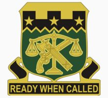 105th Military Police Battalion - Ready When Called by VeteranGraphics
