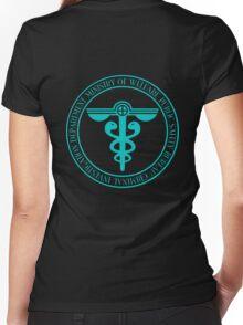 Public Safety Bureau Women's Fitted V-Neck T-Shirt