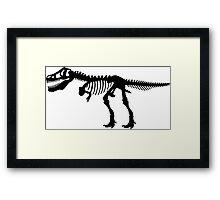 Tyrannosaurus T-Rex Skeleton Framed Print