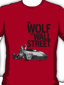THE WOLF OF WALL STREET-LAMBORGHINI COUNTACH T-Shirt