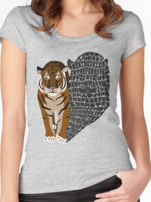 Tyger Women's Fitted Scoop T-Shirt