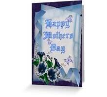 Mothers day .. card Greeting Card