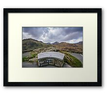 Snowdon Mountain Framed Print