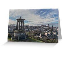 Edinburgh Skyline Greeting Card