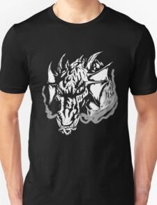 Angry Dragon (black and white) T-Shirt