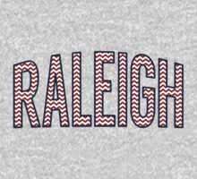Raleigh Chevron Red White Blue One Piece - Short Sleeve