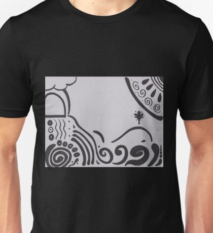 Journeying further from shore Unisex T-Shirt