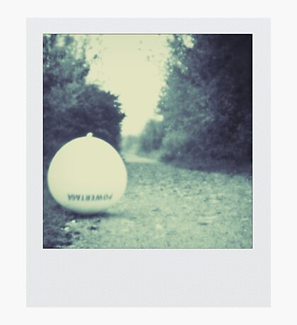 Pinhole - The Ballon Photographic Print