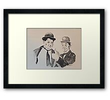 Laurel&Hardy Framed Print