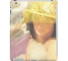 Her Yellow Hat... iPad Case/Skin
