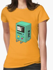 BMO plays Pokemon 2 Womens Fitted T-Shirt