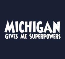 Michigan Superpowers Kids Tee