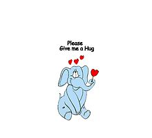 Please give me a Hug by Catherine Hamilton-Veal  ©