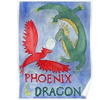 Phoenix and Dragon Poster
