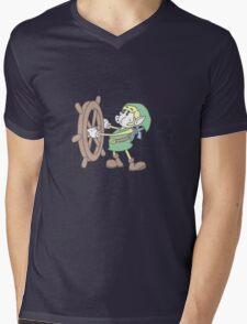 Steamboat Link Mens V-Neck T-Shirt
