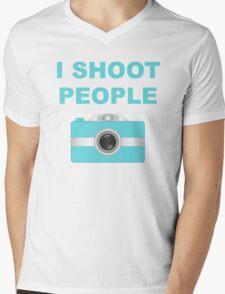 I Shoot People Aqua Camera T-Shirt