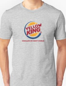Yellow King Grilled Rust Logo Unisex T-Shirt