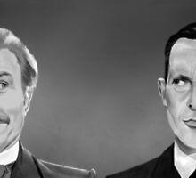 Holmes and Watson by SanFernandez