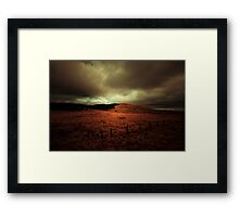 THE RAIN AND THE WIND Framed Print