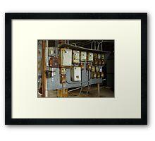 The Power Grid Framed Print