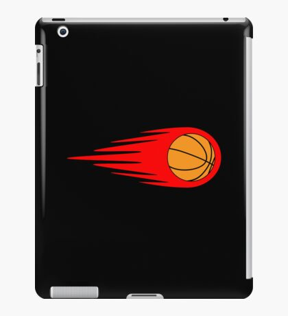 Basketball Fireball iPad Case/Skin