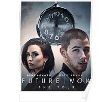 Future Now The Tour 2016 Demi Lovato Nick Jonas AM1 Poster