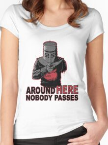 UNCLE BLACK KNIGHT Women's Fitted Scoop T-Shirt