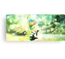 Forest Fox Girl Canvas Print