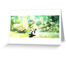 Forest Fox Girl Greeting Card