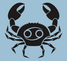 Cancer Crab Kids Tee
