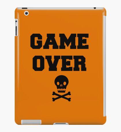 Game Over Skull & Crossbones iPad Case/Skin