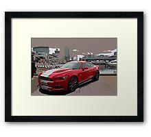 Shelby Mustang Framed Print