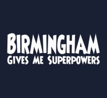 Birmingham Superpowers Kids Clothes