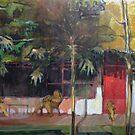 Bordering the jungle by Lorenzo Castello