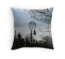 On Cathedral Square, Glasgow Throw Pillow