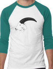 Capricorn Goat Men's Baseball ¾ T-Shirt