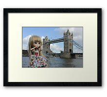 London Bridge and Freyja Framed Print